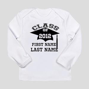 Customizable Senior Long Sleeve Infant T-Shirt