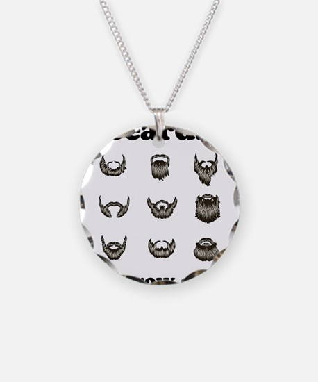 Beards - They Grow On You Necklace