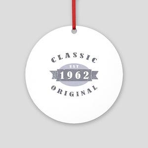 1962 Classic Original Ornament (Round)