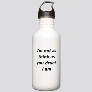 Im not Drunk, Stainless Water Bottle 1.0L