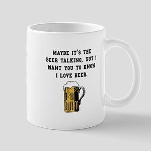 Beer Talking Mug
