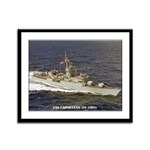 USS CAPODANNO Framed Panel Print