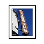 13x16 Framed Panel Print - Fox Theater