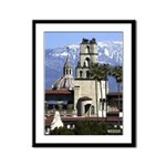 13x16 Framed Panel Print - Mission Inn