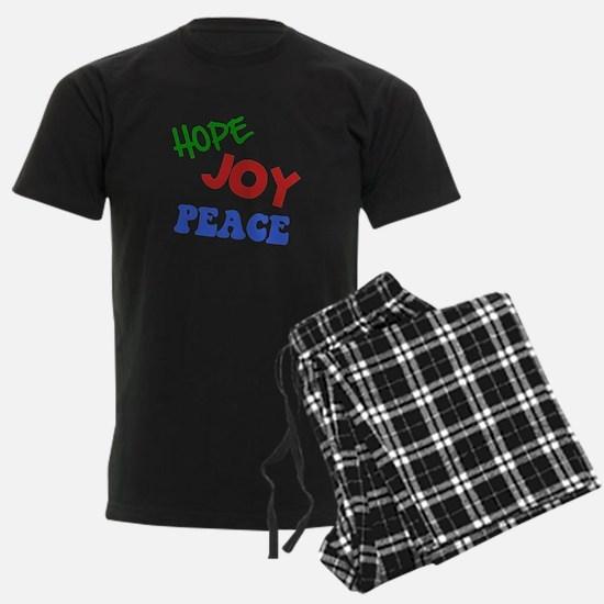 Hope Joy Peace Pajamas