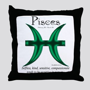 Pisces 1 Throw Pillow