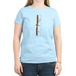 Wooden Propeller Schematic Women's Light T-Shirt
