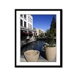 13x16 Framed Panel Print - Downtown Riverside
