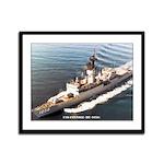 USS CONNOLE Framed Panel Print