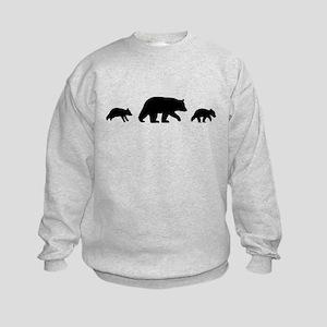 Black Bears Kids Sweatshirt