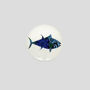AMAZINGLY BLUE Mini Button