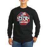LONG SLEEVE DARK STOP SNITCHING T-SHIRT NEW 2012!