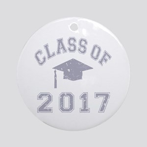 Class Of 2017 Graduation Ornament (Round)