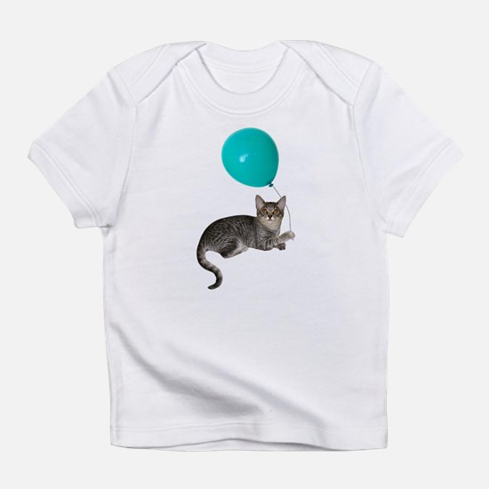 Cat with Ballon Infant T-Shirt
