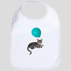 Cat with Ballon Bib