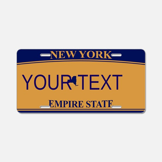 New York Customizable Plate