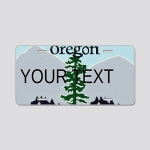 Oregon Customizable Plate