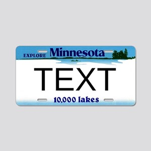Minnesota Custom Plate