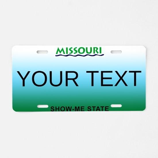 Missouri Customizable Plate