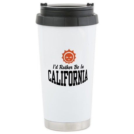 California Stainless Steel Travel Mug