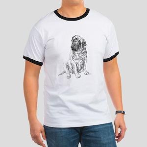 Mastiff Sitting Ringer T