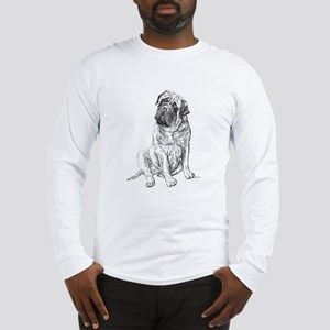 Mastiff Sitting Long Sleeve T-Shirt