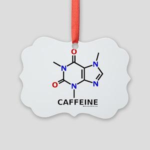 Caffeine Molecularshirts.com Picture Ornament