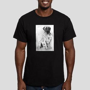 Mastiff Nobility Men's Fitted T-Shirt (dark)