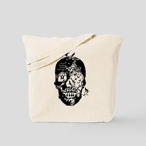 Alice in skull Tote Bag