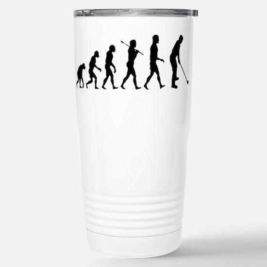 Golf Evolution Stainless Steel Travel Mug