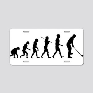 Golf Evolution Aluminum License Plate