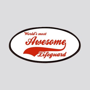 World's Most Awesome Life guard Patches
