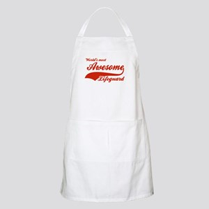 World's Most Awesome Life guard Apron
