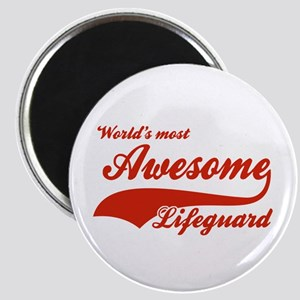 World's Most Awesome Life guard Magnet