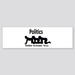 Politics Sticker (Bumper)