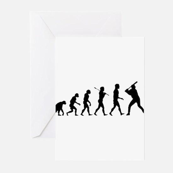 Baseball Evolution Greeting Cards (Pk of 10)
