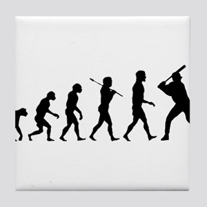 Baseball Evolution Tile Coaster