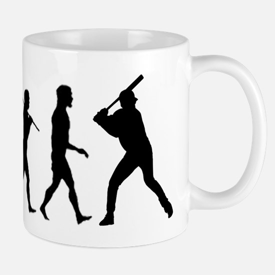 Baseball Evolution Mug