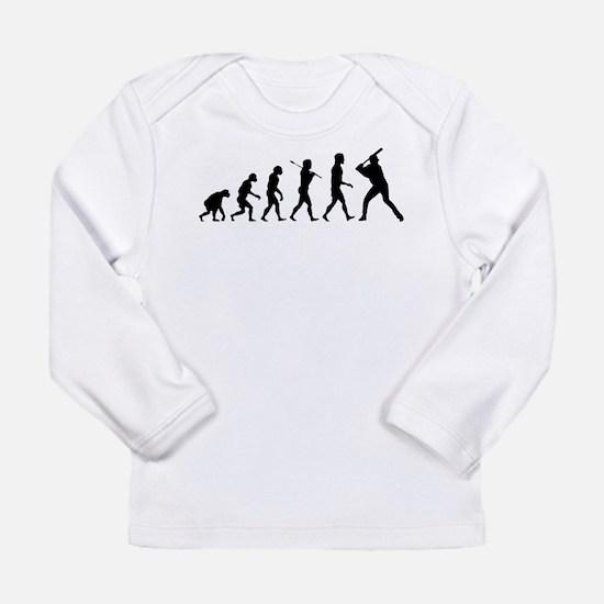 Baseball Evolution Long Sleeve Infant T-Shirt