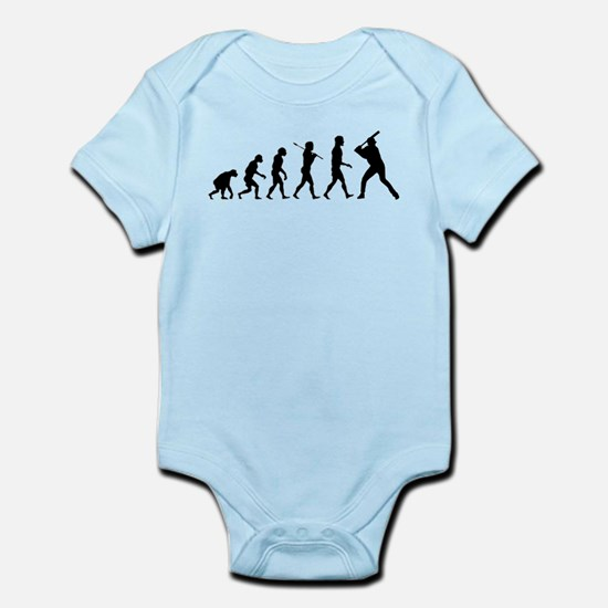 Baseball Evolution Infant Bodysuit