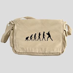 Baseball Evolution Messenger Bag