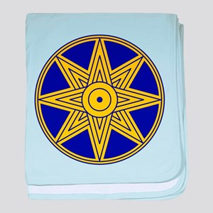 Ishtar Star Icon baby blanket