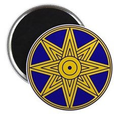 Ishtar Star Icon Magnet