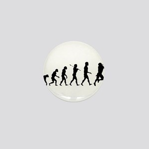 Evolution of Football Mini Button
