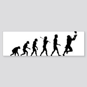 Evolution of Football Sticker (Bumper)