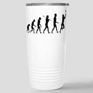 Evolution of Football Stainless Steel Travel Mug