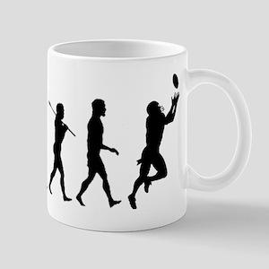 Evolution of Football Mug
