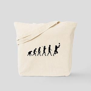 Evolution of Football Tote Bag