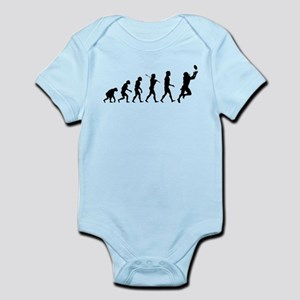 Evolution of Football Infant Bodysuit