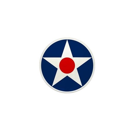 US Army Air Corps Roundel (1926) Mini Button